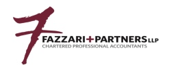 Chartered accountants firm in Canada I Fazzari + Partners LLP