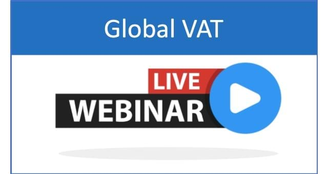 Global VAT Group Webinar