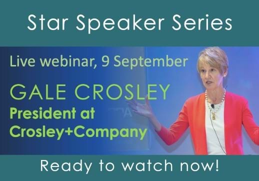 Don't miss the recording of MGI with CPAAI's latest Star Speaker webinar as leading accounting consultant Gale Crosley takes questions on growth after COVID