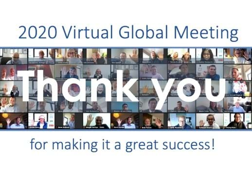 A very special thank you to everyone who made our 2020 Virtual Global Meeting such a resounding success!
