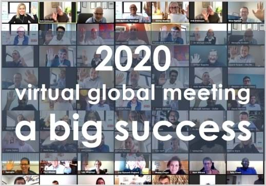 Our First-Ever Virtual Global Meeting was an astounding success!